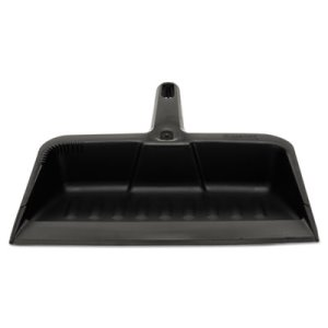 Rubbermaid Heavy Duty Dust Pan, Charcoal, 1 Each (RCP 2005 CHA)