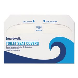 Boardwalk K5000 Premium Half-Fold Toilet Seat Covers, 5,000 Covers (BWKK5000)