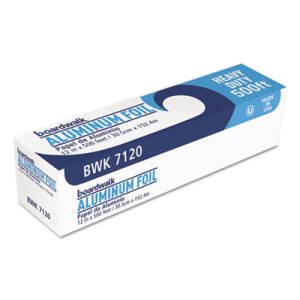 Boardwalk Heavy-Duty Aluminum Foil Rolls, 12in x 500 ft. (BWK 7120)