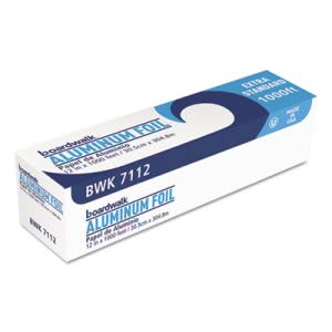 Boardwalk Extra Standard Aluminum Foil Rolls, 12in x 1,000 ft. (BWK 7112)