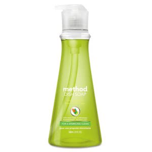 Method Dish Soap, Lime & Sea Salt, 18-oz. Pump Bottle (MTH01240EA)