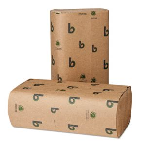 Boardwalk Brown Multi-Fold Paper Towels, 4,000 Towels (BWK 10GREEN)