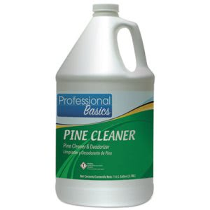 Professional Basics Pine Cleaner, 1 Gal Bottle, 4 Bottles (TOL505917)