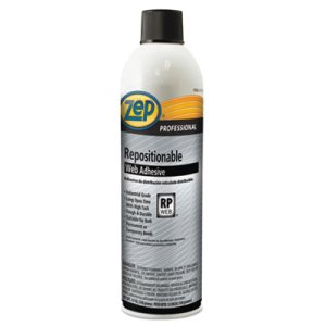 Zep Repositionable Web Adhesive, 20-oz Aerosol, 12 Cans (ZPE1046674)