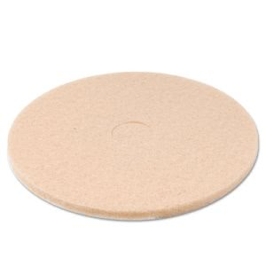 "Premier Champagne 20"" Floor Burnishing Pads, 5 Pads (PAD 4020 ULT)"