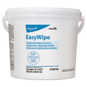 Diversey Easywipe Disposable Wipe System, 6 Buckets (DVO5768748)