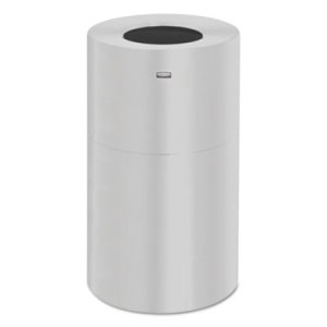 Rubbermaid AOT35GL Open Top 21 Gallon Indoor Receptacle (RCPAOT35SAGL)