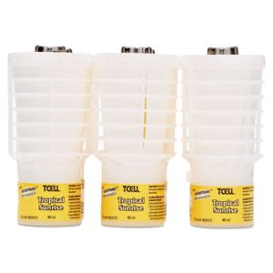 Rubbermaid 402472 TCell Odor Neutralizer Tropical Sunrise, 6 Refills (RCP402472)