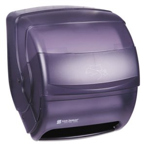 San Jamar Integra Lever Paper Towel Dispenser, Black Pearl (SAN T850TBK)