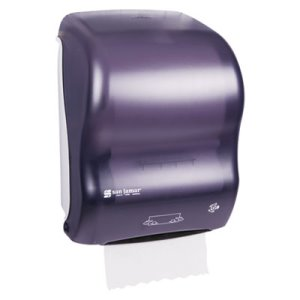 San Jamar T7000 Simplicity Hands-Free Mechanical Towel Dispenser (SJMT7000TBK)