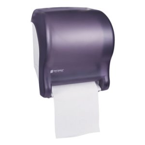 San Jamar Tear-N-Dry Essence Electronic Towel Dispenser, Black (SJMT8000TBK)