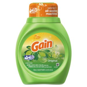 Gain 2X Liquid Laundry Detergent, 6 Bottles (PGC 12783CT)
