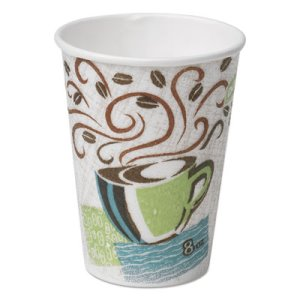 8-oz. PerfecTouch Hot Cups, 500 Cups (DIX 5338DX)