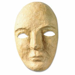 "Creativity Street Paper Mache Mask Activity Kit, 8 x 5 1/2"" (CKC4190)"