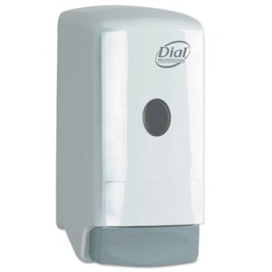 Dial 800ml Liquid Hand Soap Dispenser, White, 1 Each (DIA03226)