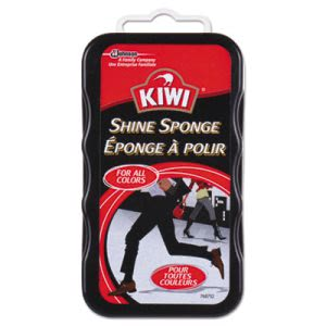 KIWI Shine Sponge, For All Colors, 12/Carton (DVOCB153101)