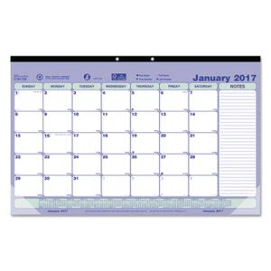 Brownline Monthly Desk Pad Calendar, 17-3/4 x 10-7/8, 2018 (REDC181700)
