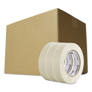 "Universal General-Purpose Masking Tape, 1"" x 60yd, 36 Rolls(UVS 51301)"
