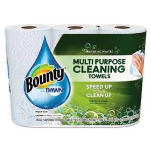 Bounty 92379 with Dawn 2-Ply Paper Towel Rolls, 24 Rolls (PGC92379CT)