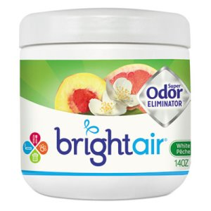 Bright Air 900133 Super Odor Eliminator, White Peach & Citrus, 14 oz (BRI900133)