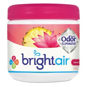 Bright Air Super Odor Eliminator, Island Nectar/Pineapple, Each (BRI900114EA)