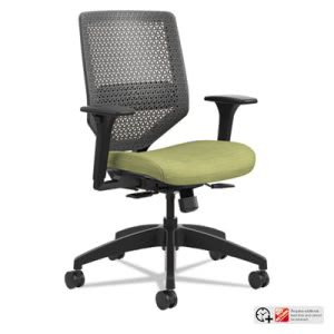 Hon Solve Series ReActiv Back Task Chair, Meadow/Charcoal (HONSVMR1ACLCO82)