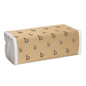 Boardwalk White C-Fold Paper Towels, 2,400 Towels (BWK 6220)