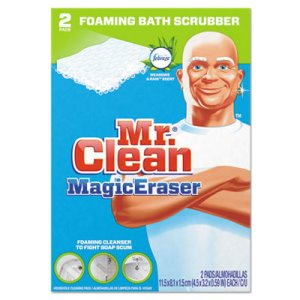 Mr. Clean 84552 Magic Eraser Bathroom Scrubber Pads, 16 Boxes (PGC84552CT)