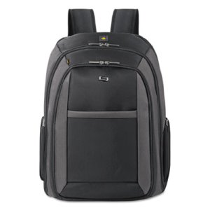 Solo New York Laptop Backpack, Ballistic Poly, Black, Each (USLCLA7034)