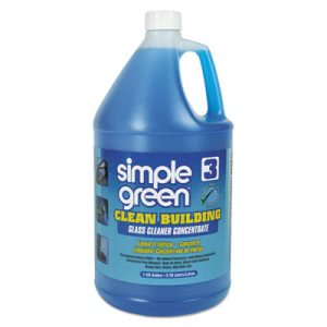 Simple Green Clean Building Glass Cleaner Concentrate, 1 Gallon (SMP11301)