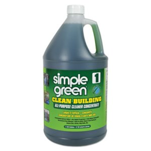Simple Green Clean Building All-Purpose Cleaner, 1gal Bottle (SMP11001CT)