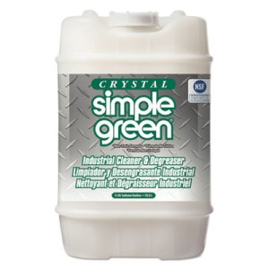 Simple Green All-Purpose Industrial Cleaner/Degreaser, 5gal, Pail (SMP19005)