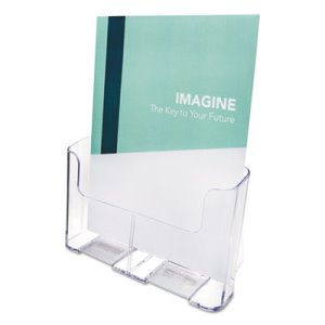 Deflect-o DocuHolder, 9-1/4w x 3-3/4d x 10-3/4, Clear (DEF77001)