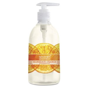 Seventh Generation Natural Purifying Hand Wash, Orange, 12oz Bottle (SEV22925)