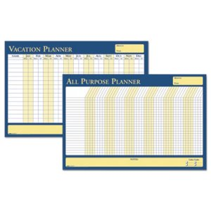 House Of Doolittle All-Purpose/Vacation Plan-A-Board Calendar, 36 x 24 (HOD639)