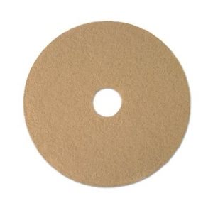 "Boardwalk Champagne 21"" Floor Burnishing Pads, 5 Pads (BWK4021ULT)"