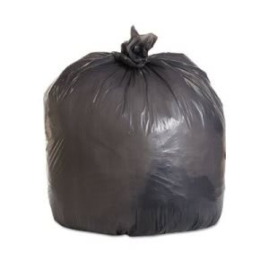 45 Gallon Gray Garbage Bags, 40x46, 1.1mil, 100 Bags (BWK4046SEH)