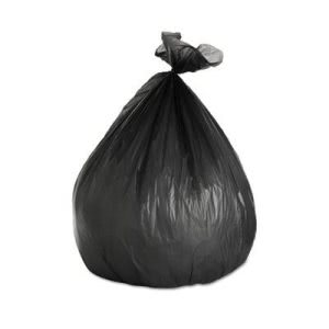 45 Gallon Black Trash Bags, 40x46, 14mic, 250 Bags (BWK404617BLK)