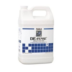 De-Fense Non-Buff Floor Wax, 4 Gallons (FKLF135022)