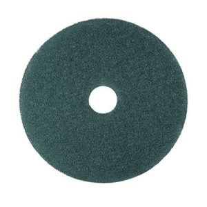 "3M Blue 14"" Floor Cleaning Pad 5300, 5 Pads (MMM08407)"