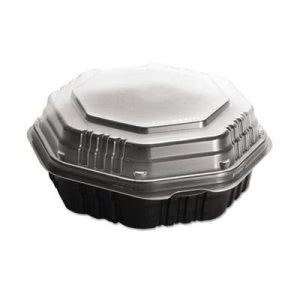 OctaView Hot Food Containers, 9-In. Deep, 100 Containers (SCC809011PP94)