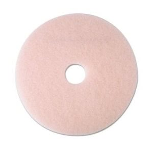 "3M Pink 21"" Eraser Burnishing Floor Pad 3600, 5 Pads (MMM25859)"