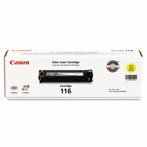Canon 1977B001 (116) Toner, 1,500 Page-Yield, Yellow (CNM1977B001)