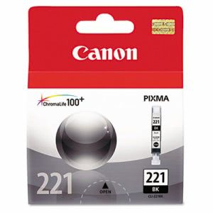 Canon 2946B001 (CLI-221) Ink, Black (CNM2946B001)