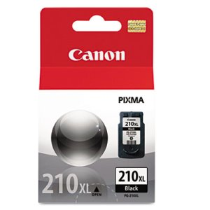 Canon 2973B001 (PG-210XL) High-Yield Ink, 401 Page-Yield, Black (CNM2973B001)