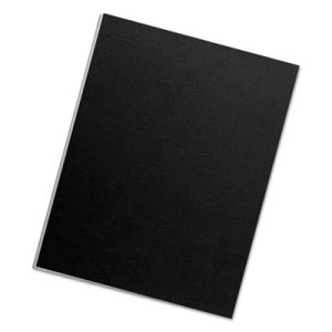 Futura Presentation Binding System Covers, Opaque Black, 25 Covers (FEL5224901)