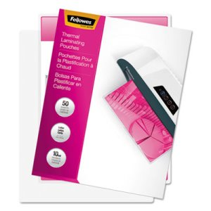 Fellowes Laminating Pouches, 10 mil, 11 1/2 x 9, 50/Pack (FEL52042)