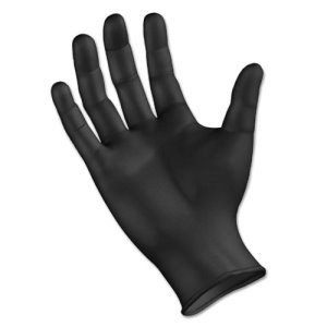 Boardwalk Powder-Free Nitrile Gloves, 4.4mil, XL, Black, 100 Gloves (BWK396XLBX)