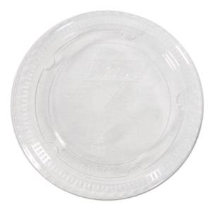 Dixie Cold Cup Lids for 16-24-oz. Plastic Cups, Clear, 1000 Lids (DXECL1624)
