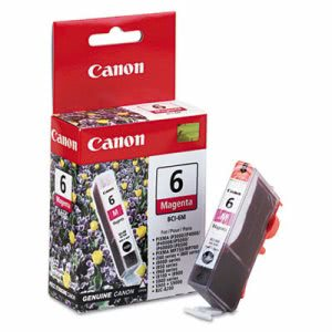 Canon BCI6M (BCI-6) Ink Tank, 370 Page-Yield, Magenta (CNMBCI6M)